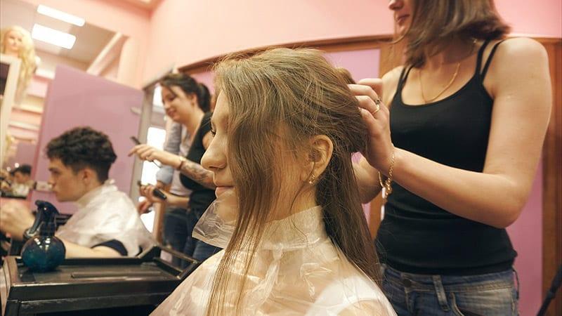 Обучение волосы керамидирование волос