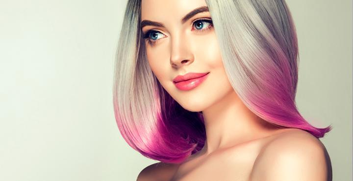 Курс окрашивание волос блонд