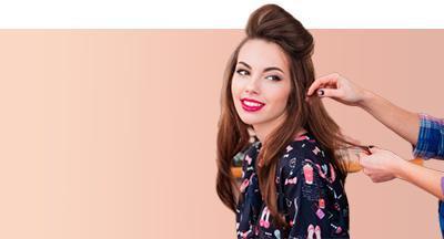 «Салонные укладки с элементами причёски»