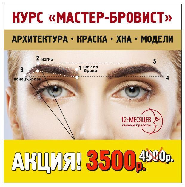 курсы бровиста акции скидки
